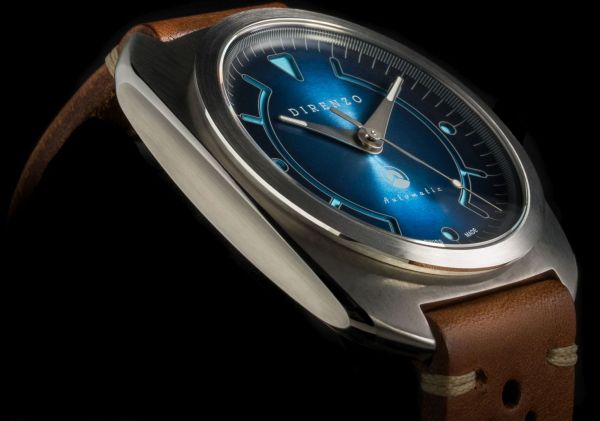 DIRENZO DRZ_02 Limited Edition watch blue dial