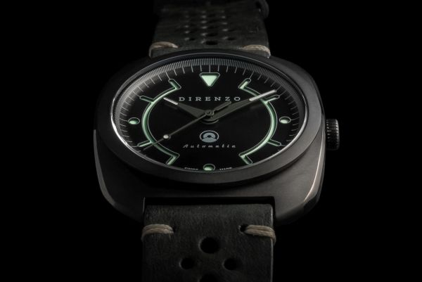 DIRENZO DRZ_02 Limited Edition watch black dial