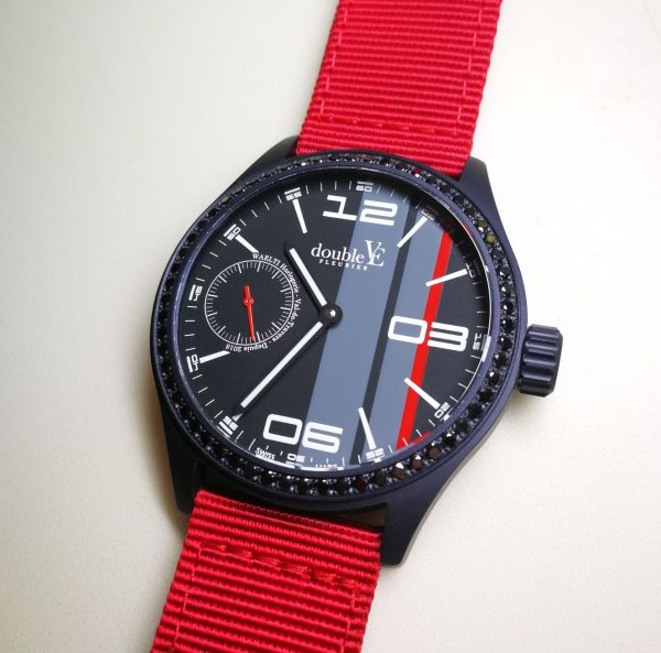 Double-Vé Fleurier watches race collection