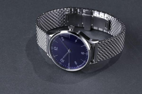 anOrdain Model 1 watch with mesh bracelet