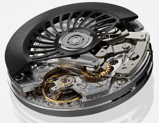 GVCHIANI MASTERBLOCK watch movement Sellita automatic chronograph calibre SW500