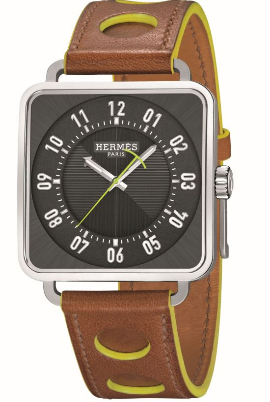 Hermès Carré H Watch, New Anthracite Dial Version