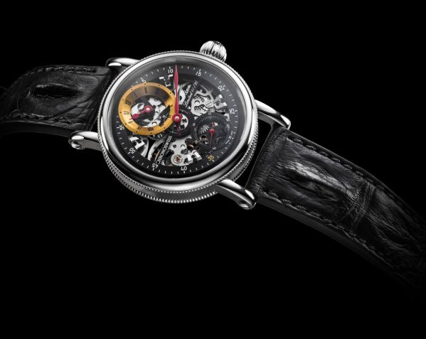 Chronoswiss Flying Grand Regulator Skeleton 2019 Limited Edition watch CH-6723S-BKYE Stainless steel, black and yellow dial