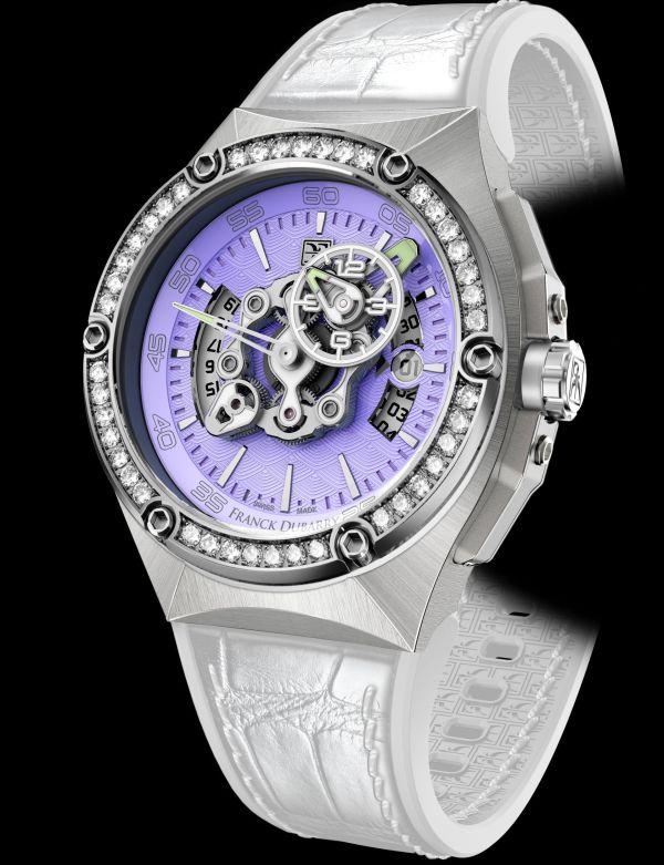 Franck Dubarry Crazy Wheel Lady swiss watch