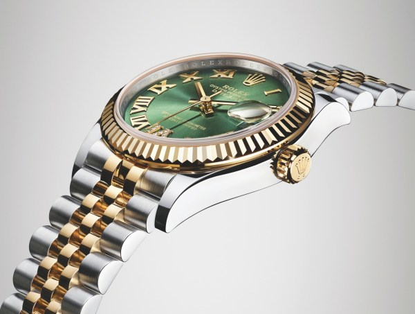 Rolex Oyster Perpetual Datejust 31, Yellow Rolesor Version with Olive green dial (2019)