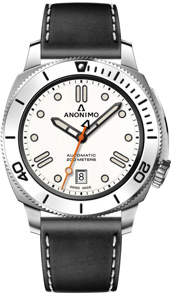 ANONIMO NAUTILO Classic Blanche watch