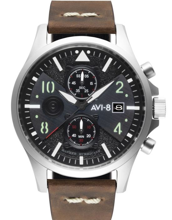 AVI-8 Hawker Hurricane AV-4068 Chronograph Bulman Edition watch