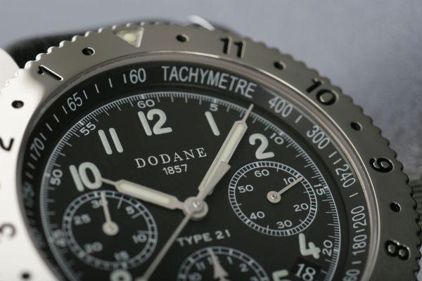 DODANE 1857 TYPE 21 chronograph RE-EDITION