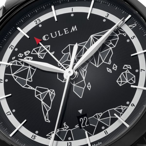 CuleM GMT Dual Time Automatic Watch