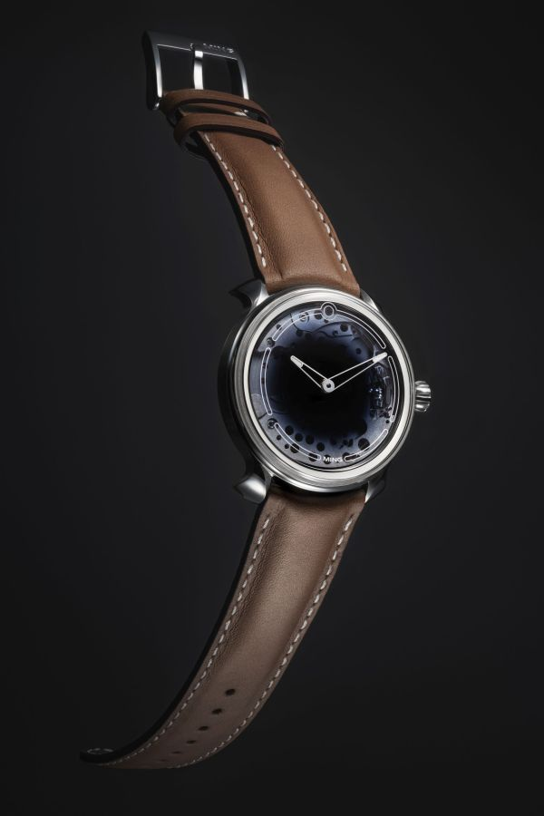 MING 19.01 watch with sapphire dial