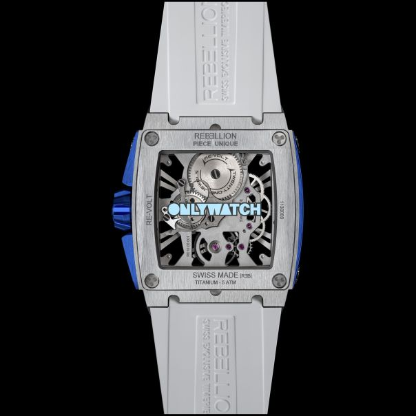 Rebellion Timepieces Re-Volt Watch Unique Piece for Only Watch 2019 Charity Auction