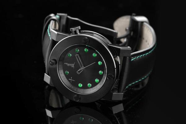 Chinese Timekeeper CTK13 Three Hands Automatic Jade watch