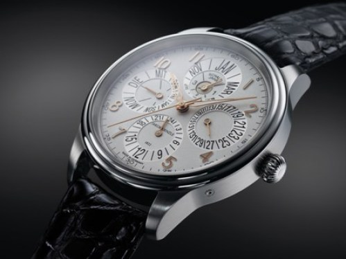 KIENZLE - JOB KIENZLE »Perpetual Calendar 24H« No.4 Limited Edition watch