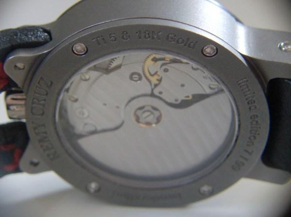 REMY CRUZ watches Rebellion Sauvage Handcrafted Titanium Timepiece