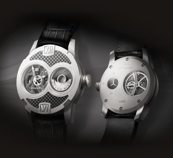 Gresso Grand Wind Skeleton Limited Edition Watch white gold