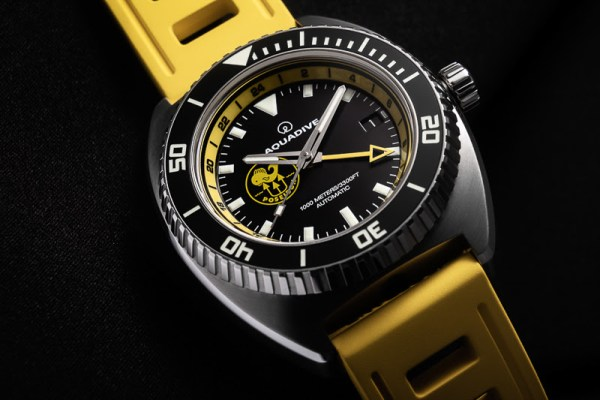 Aquadive Poseidon GMT diving watch 1000 meters