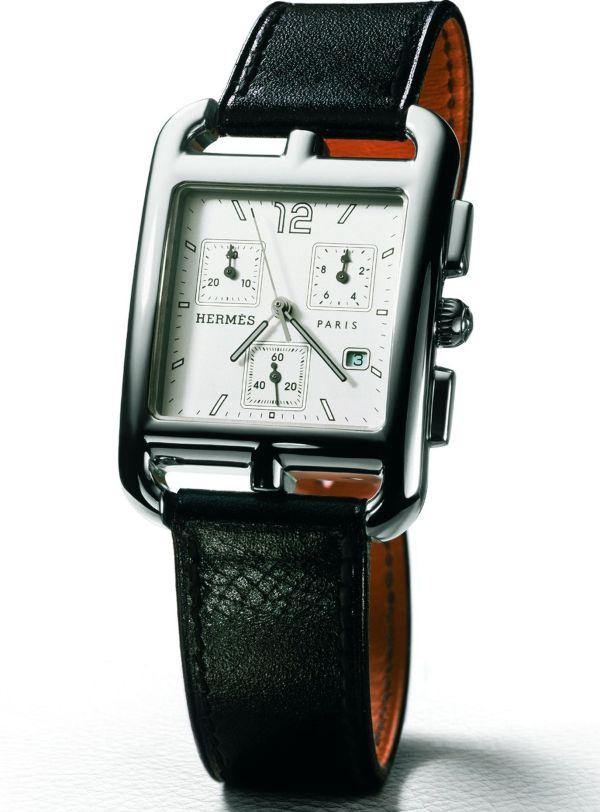 HERMES Cape Cod Chrono (Quartz chronograph watch for men)