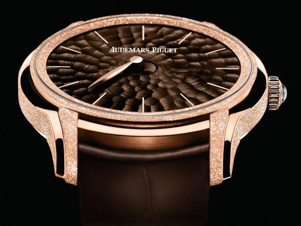 Audemars Piguet Millenary Frosted Gold Philosophique watch pink gold