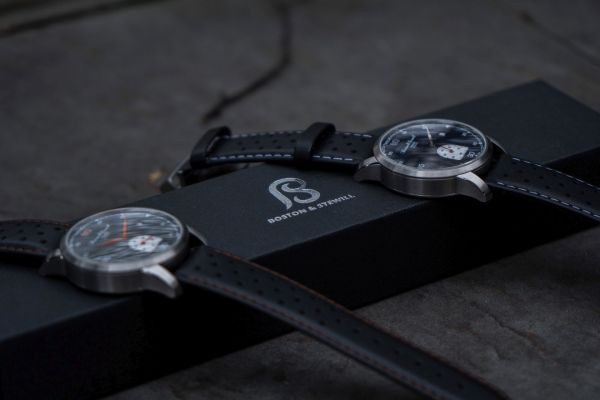 Boston & Stewill Tourer watch New Models with Midnight Blue and Grey Dial