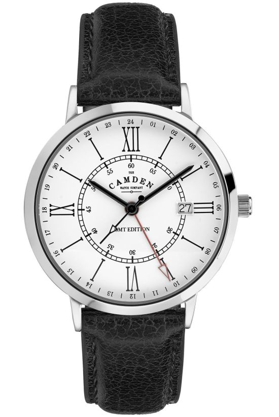 The Camden Watch Company No.27 GMT Edition with white dial