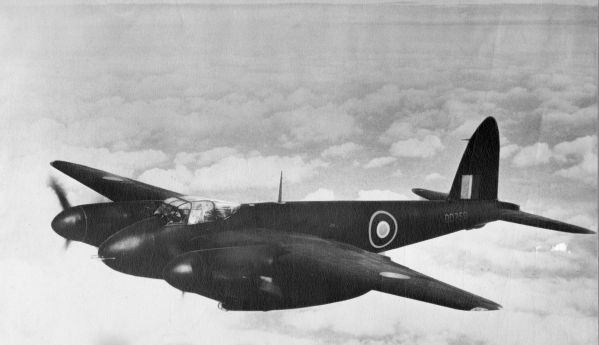 British de Havilland Mosquito aircraft