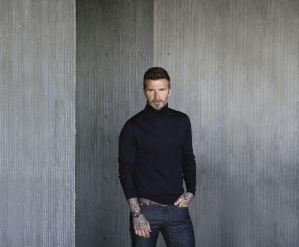 David Beckham - Tudor Brand and #Borntodare Campaign Ambassador