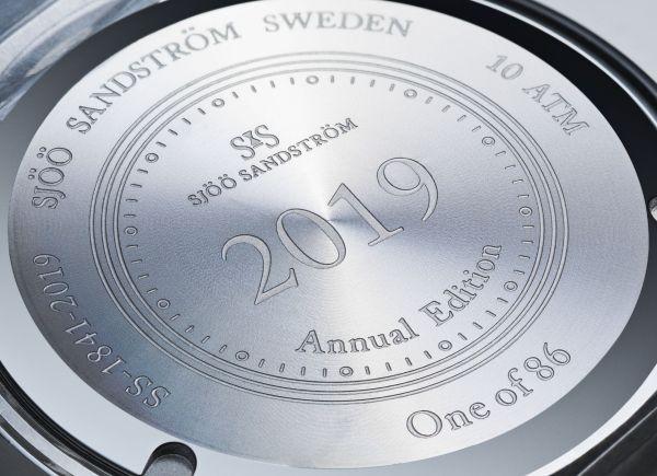 Sjöö Sandström Royal Steel Classic Automatic Annual Edition 2019