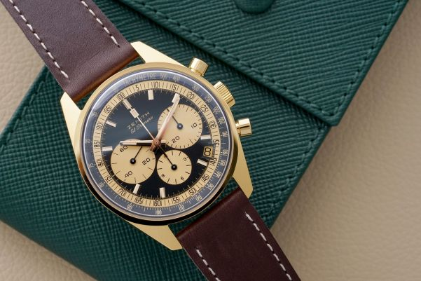 Zenith El Primero Limited Edition Chronographs Designed By Phillips yellow gold