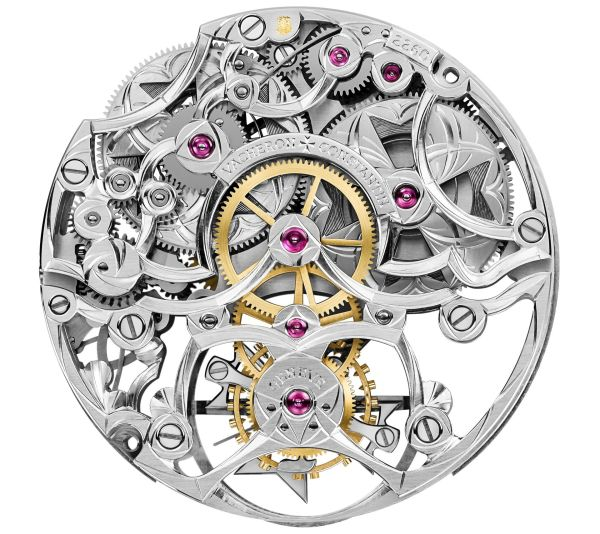 Vacheron Constantin Les Cabinotiers Openworked Tourbillon High Jewellery skeleton movement