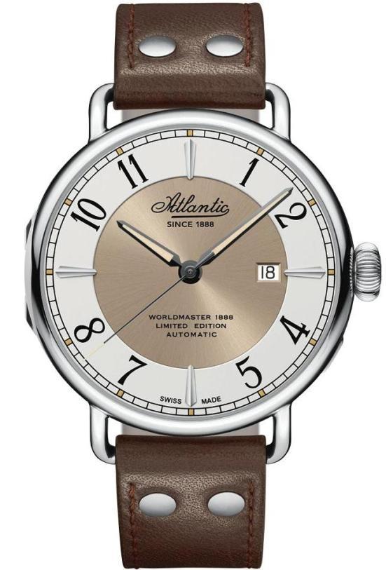 Atlantic Watch Worldmaster 1888 - 130 Years automatic