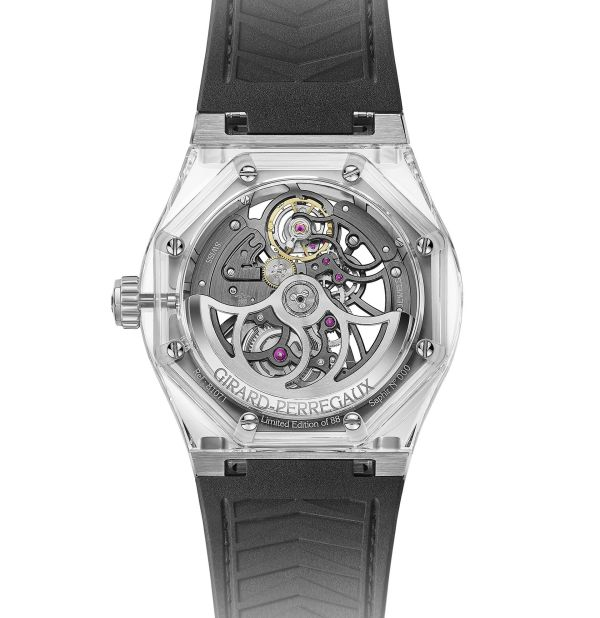 Girard-Perregaux Laureato Absolute Light Limited Edition caseback view