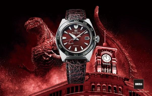 Grand Seiko Godzilla 65th Anniversary Limited Edition watch