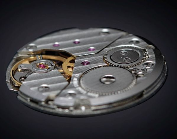 IRON ANNIE Bauhaus, Manual Wind, Small Second, Ref. 5030 movement eta 7001