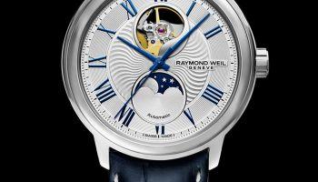 RAYMOND WEIL maestro Moon Phase 2240-STC-00655 watch