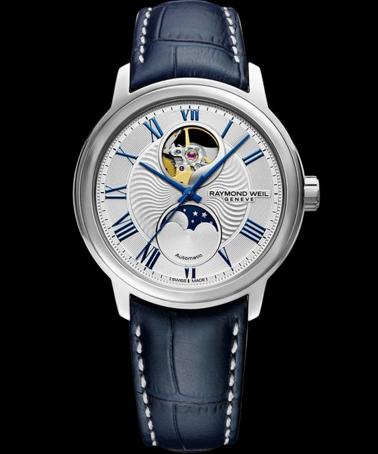 RAYMOND WEIL maestro Moon Phase 2240-STC-00655 watch