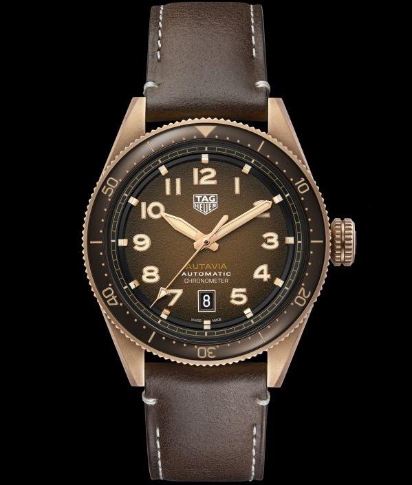 TAG Heuer Autavia Bronze watch