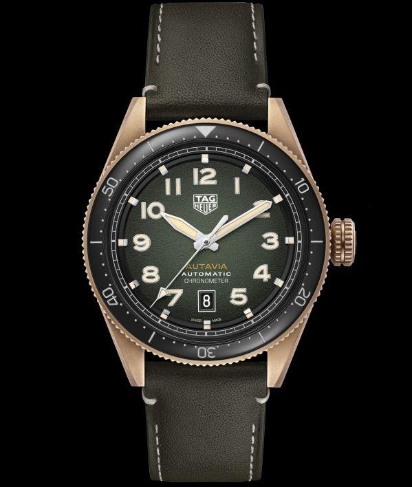 TAG Heuer Autavia Bronze automatic watch