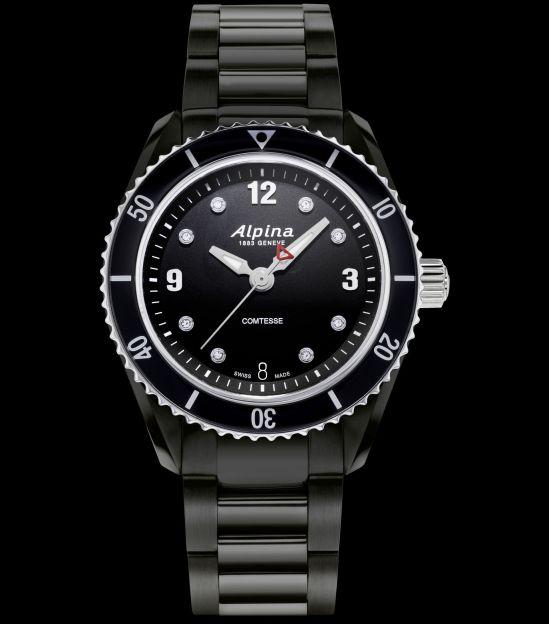 Alpina Alpiner Comtesse Sport Quartz watch AL-240BSD3FBC6B