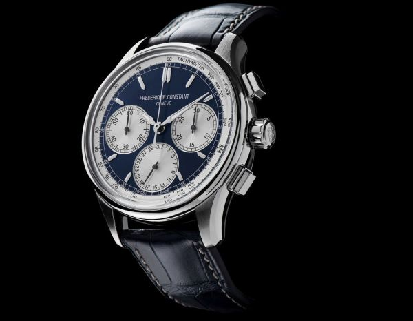 Frederique Constant Flyback Chronograph Manufacture stainless steel model