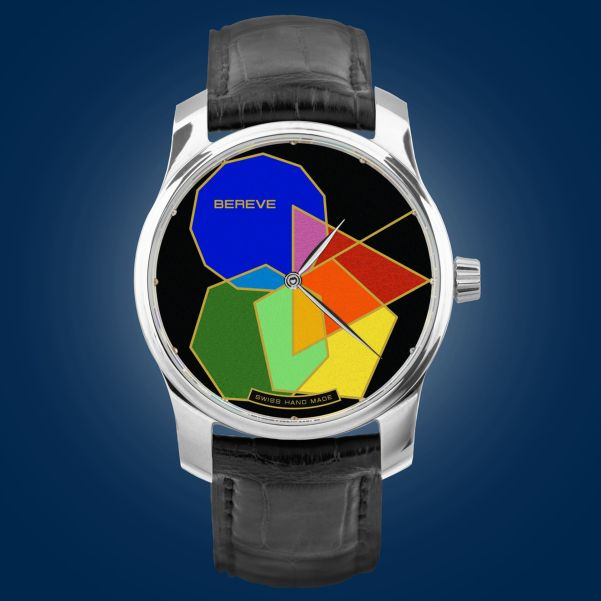 Polygonal Prime Stainless steel 316 LM Case