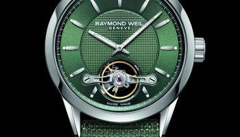 RAYMOND WEIL FREELANCER CALIBRE RW1212, GREEN 2780 STC 52001