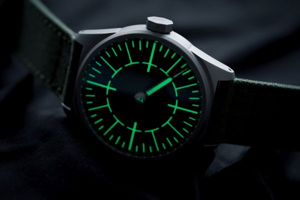 Subdelta Quattro Limited Edition single hand watch