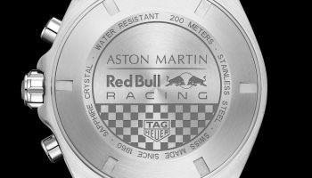 TAG Heuer Formula 1 Aston Martin Red Bull Racing Special Edition 2020 caseback