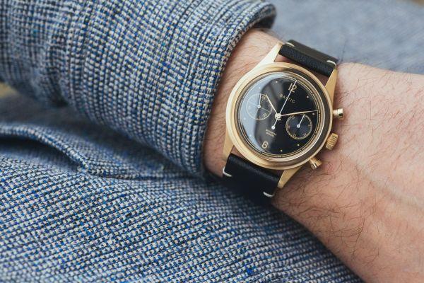 BALTIC BICOMPAX 001 mechanical hand-wound chronograph