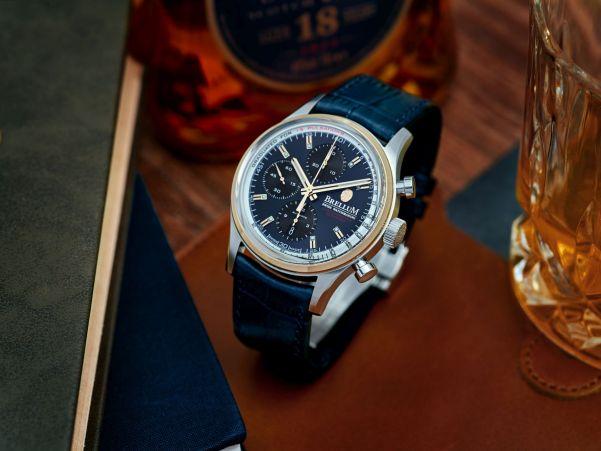 Brellum Duobox Gold Edition 2020 automatic chronograph