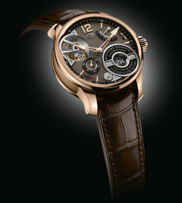 Greubel Forsey QP À ÉQUATION in 5N Red Gold Millesime with Chocolate Gold Dia