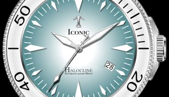 Iconic Timepieces Halocline Automatic Dive Watch 200 meters Kickstarter Campaign Swiss Movement
