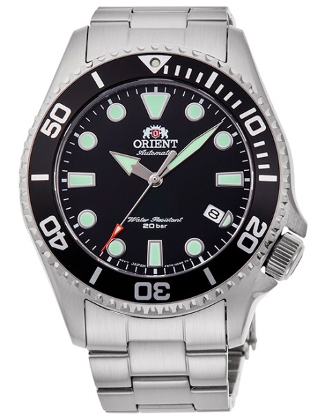 ORIENT Sports Diver New Models Reference RA-AC0K01B Black Dial