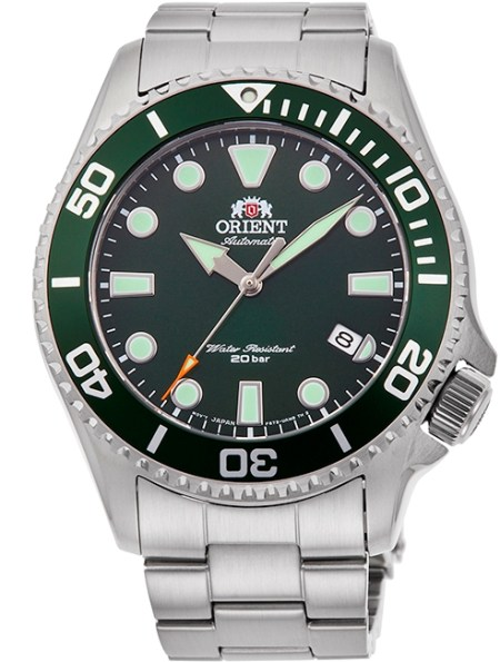 ORIENT Sports Diver New Models Reference RA-AC0K02E Green Dial