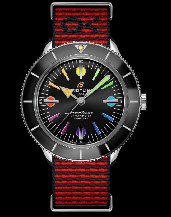 Breitling Superocean Heritage '57 Capsule Collection_superocean-heritage-57-limited-edition-with-a-red-outerknown-econyl-yarn-nato-strap